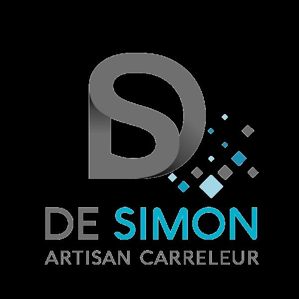 logo gris DE SIMON carreleur Talmont saint hilaire 85 Vendée