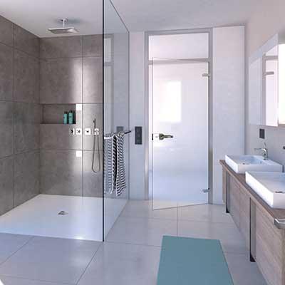 carrelage salle de bain Talmont saint hilaire Vendée De Simon